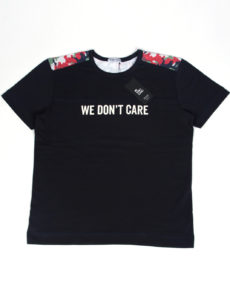 ФУТБОЛКА WE DON'T CARE LEIBERMUSTER CAMO T-SHIRT NAVY