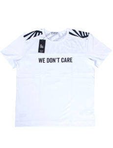 ФУТБОЛКА WE DON'T CARE DAZZLE CAMO T-SHIRT WHITE