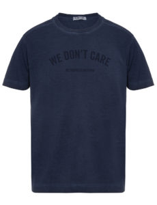ФУТБОЛКА WE DON'T CARE GD MU T-Shirt Navy