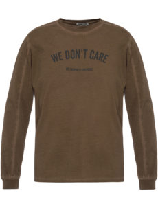 Лонгслив WE DON'T CARE GD MU Long Sleeve Khaki