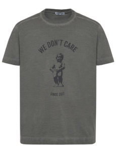 ФУТБОЛКА WE DON'T CARE GD Manneken Pis T-Shirt Grey