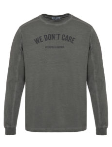 Лонгслив WE DON'T CARE GD MU Long Sleeve Grey