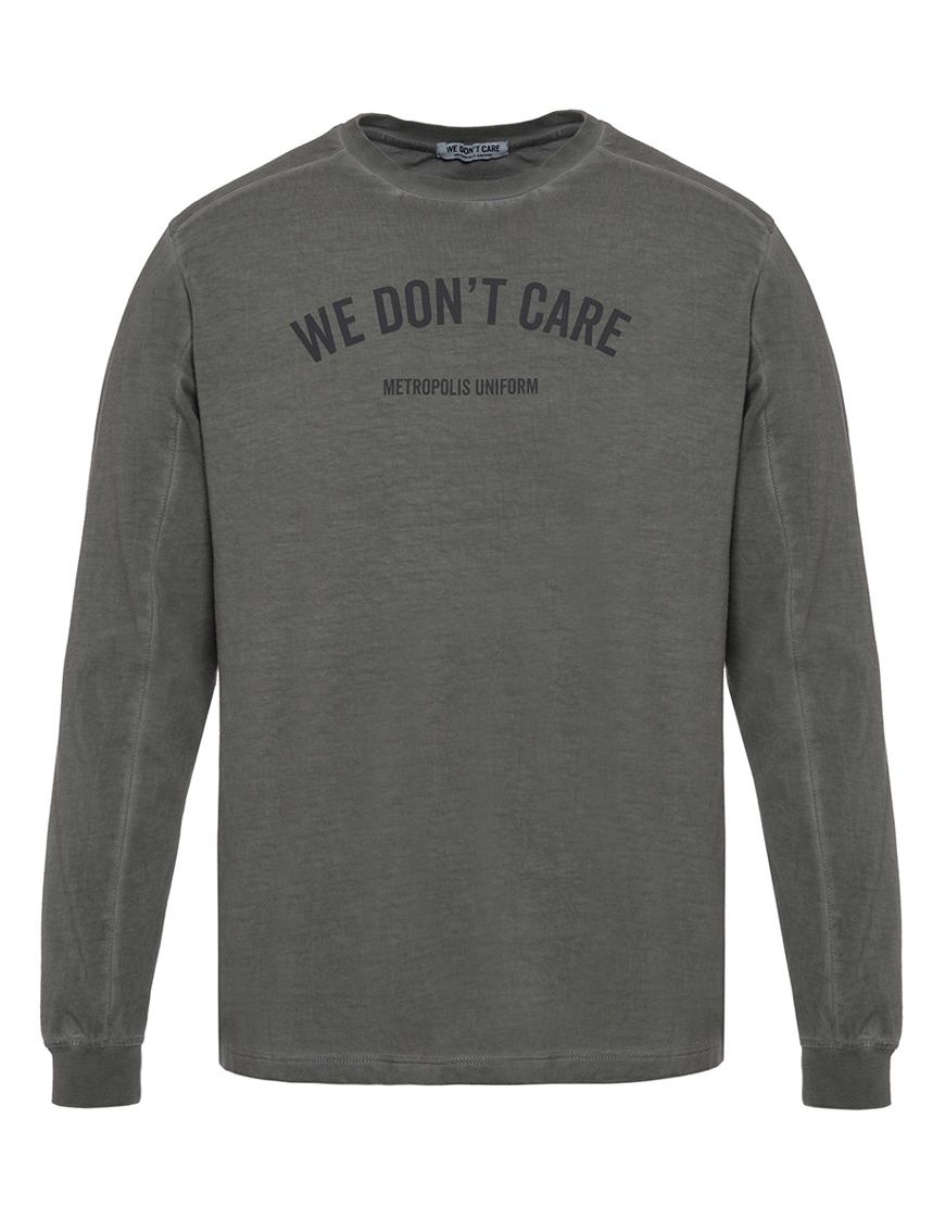 WE DON'T CARE GD MU Long Sleeve