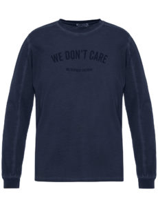 Лонгслив WE DON'T CARE GD MU Long Sleeve Navy