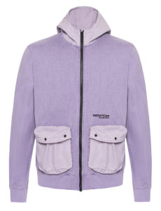 ТОЛСТОВКА WE DON'T CARE GD FULL ZIP HOODIE Purple