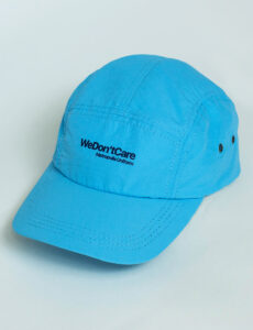 Кепка WDC Nylon Five Panel Cap Blue