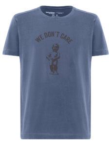 ФУТБОЛКА WE DON'T CARE GD Manneken Pis T-Shirt NAVY-BLUE