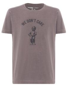 ФУТБОЛКА WE DON'T CARE GD Manneken Pis T-Shirt TAUPE